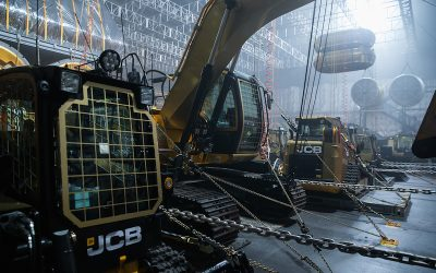 """Making an Appearance on the Big Screen: JCB Machines Featured in New """"Alien"""" Movie"""