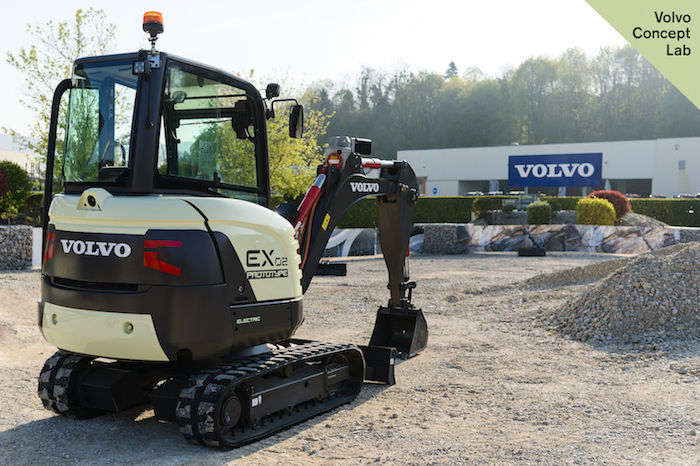 Volvo Construction Equipment demonstrated the EX2 – a fully electric compact excavator that delivers zero emissions, 10 times higher efficiency, 10 times lower noise levels and reduced total cost of ownership – at the Volvo Group Innovation Summit in London.
