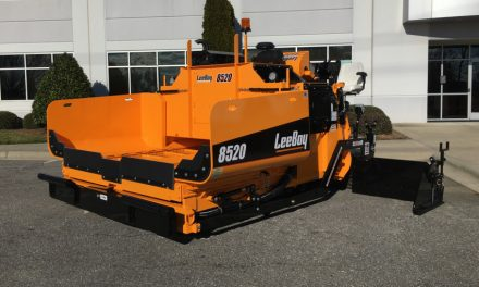 New Paver Has Larger Hopper Capacity, Higher HP Engine