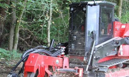 New SH280 Stump Hog for Fecon's FTX128 Track Carrier