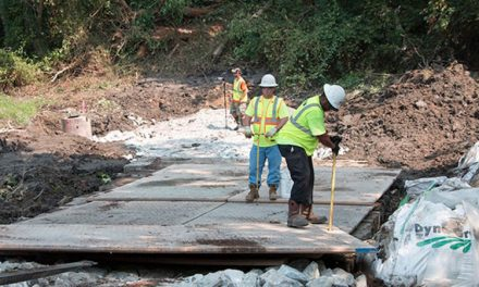 ON THE JOBSITE: Mabey's Temporary Roadway Keeps Dam Removal Project Afloat to Restore Fish Migration to the Chesapeake Bay
