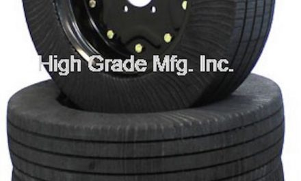 Laminated Wheel Designed for Better Traction, Fewer Flats