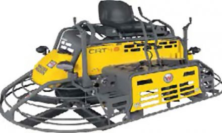 Ride-On Trowel Offers Electronic Fuel Injection Engine