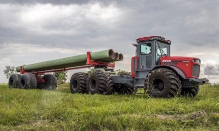 New Pipe Trailer For ARDCO's Articulating Multi-Purpose Truck