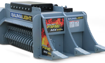 Mulch Around Objects Above and Below Grade Quickly, with Precision and Power