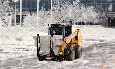 Revolutionary Skid-Steer-Based Ice Management System from BOSS