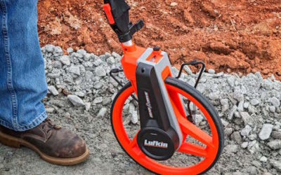New Design in Measuring Wheel Results in Greater Accuracy, Better Balance