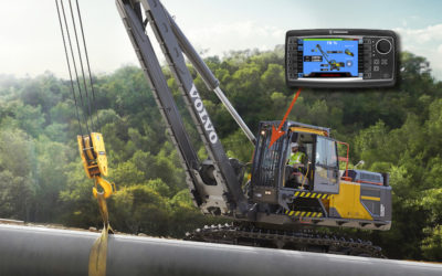 Hirschmann Provides Rated Capacity Indicator Solution For Volvo's Pipelayers